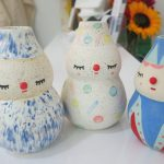 Polkaros: hand-painted ceramics